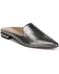 Franco Sarto - Samanta Textured Leather Mules - Lyst