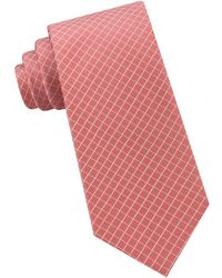 Michael Kors - Mini Grid Silk Tie - Lyst