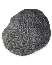 Weatherproof - Faux Fur-lined Herringbone Fleece Driving Cap - Lyst
