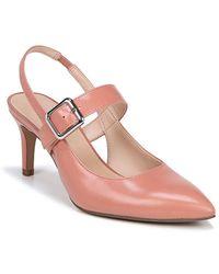 Franco Sarto - Martina Leather Slingback Court Shoes - Lyst