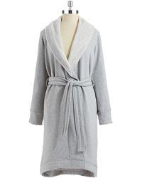 UGG Duffield Shawl Collar Robe - Gray