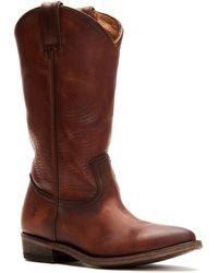 Frye - Billy Pull-on Cowboy Boots - Lyst