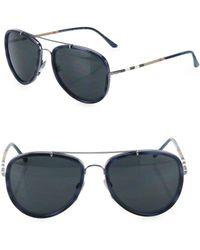 b56bab2f45d21 Lyst - Burberry 4183 Men Sunglasses in Black for Men