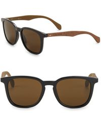 HUGO - 52mm Round Sunglasses - Lyst