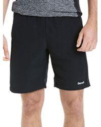 Bench - Logo Printed Shorts - Lyst