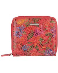 Lodis - Fruitilicious Amaya Leather Zip French Wallet - Lyst