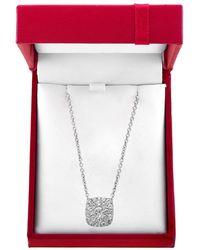 Effy Bouquet 0.48 Tcw Diamond And 14k White Gold Pendant Necklace - Multicolour