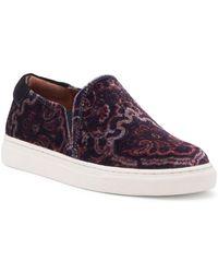 Lucky Brand - Lupa Velvet Slip-on Sneakers - Lyst