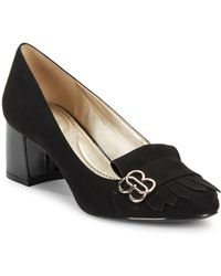 Bandolino - Olale Faux Suede Court Shoes - Lyst