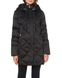 Ellen Tracy - Heavy Weight Quilted Down Jacket - Lyst