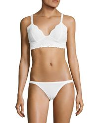 40c5067336 Free People Stretch Lace Bustier - Lyst
