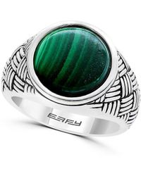 Effy Gento Malachite And Sterling Silver Ring - Green