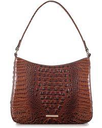 Brahmin - Noelle Leather Shoulder Bag - Lyst