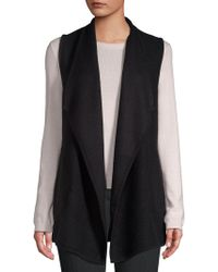 Jones New York - Classic Foldover Vest - Lyst