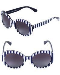 Kate Spade - Cindra 54mm Gradient Round Sunglasses - Lyst