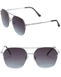 Vince Camuto - 57mm Aviator Sunglasses - Lyst