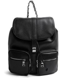 Steve Madden - Pebbled Chained Backpack - Lyst