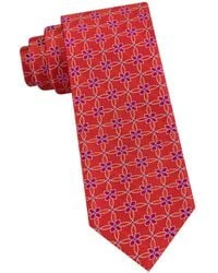 Ted Baker - Connect Circles Silk Tie - Lyst