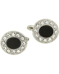 1928 - Faceted Oval Cufflinks - Lyst