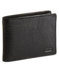 Lauren by Ralph Lauren Leather Passcase Wallet - Black