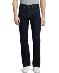 8154e57b882 Levi's 505 Regular Fit Springsteen Jeans in Blue for Men - Lyst