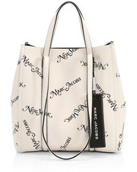 Marc Jacobs - New York? Magazine X The Tag Coated Leather Tote - Lyst