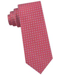 Michael Kors - Four Point Square Neat Silk Tie - Lyst