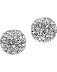 Nina - Swarovski Crystal Stud Earrings - Lyst