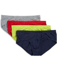 2xist - Four-pack Essential Bikini Briefs - Lyst