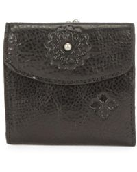 Patricia Nash - Textured Leather Tri-fold Wallet - Lyst