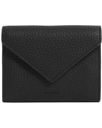 AllSaints - Voltaire Leather Card Holder - Lyst
