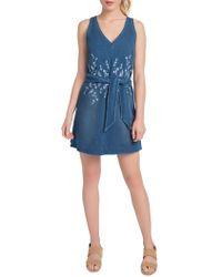 Lyssé - Cooper Stretch Denim Mini Dress - Lyst