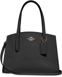 COACH - Charlie Caryall 28 Leather Bag - Lyst