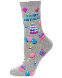 Hot Sox - Happy Birthday Socks - Lyst