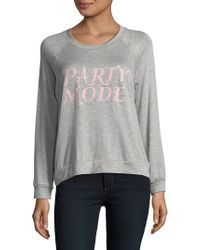 Project Social T - Party Mode Sweatshirt - Lyst