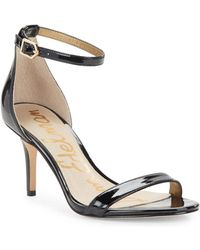 Sam Edelman - Patti Leather Sandals - Lyst