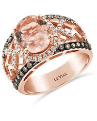 Le Vian 14k Strawberry Gold? Peach Morganitetm - Pink