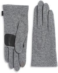Echo - Basic Textured Gloves - Lyst