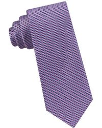 Ted Baker - Zigzag Neat Silk Tie - Lyst