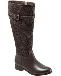 Trotters - Lyra Leather Riding Boots - Lyst