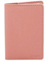 Mango - P Lole Faux Leather Cardholder - Lyst