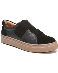 Naturalizer Charlie Leather Trainers - Black