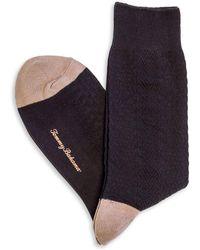 Tommy Bahama - Basket Weave Socks - Lyst