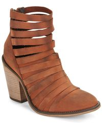 Free People - Hybrid Strappy Ankle Boots - Lyst