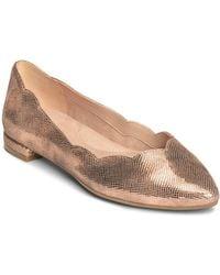 Aerosoles - Flower Girl Leather Ballet Flats - Lyst