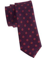 Tallia Orange - Laurel Neat Dot Silk Tie - Lyst
