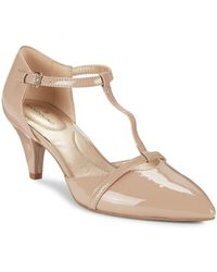 Bandolino - Jamee T-strap Court Shoes - Lyst