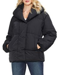 Vince Camuto - Matte Quilted Puffer Jacket - Lyst