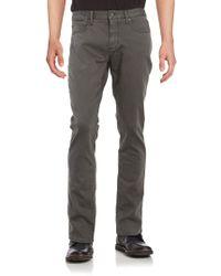 John Varvatos - Bowery-fit Straight-leg Jeans - Lyst