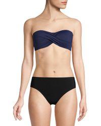 Tommy Bahama - Twist Front Bandeau Bikini Top - Lyst